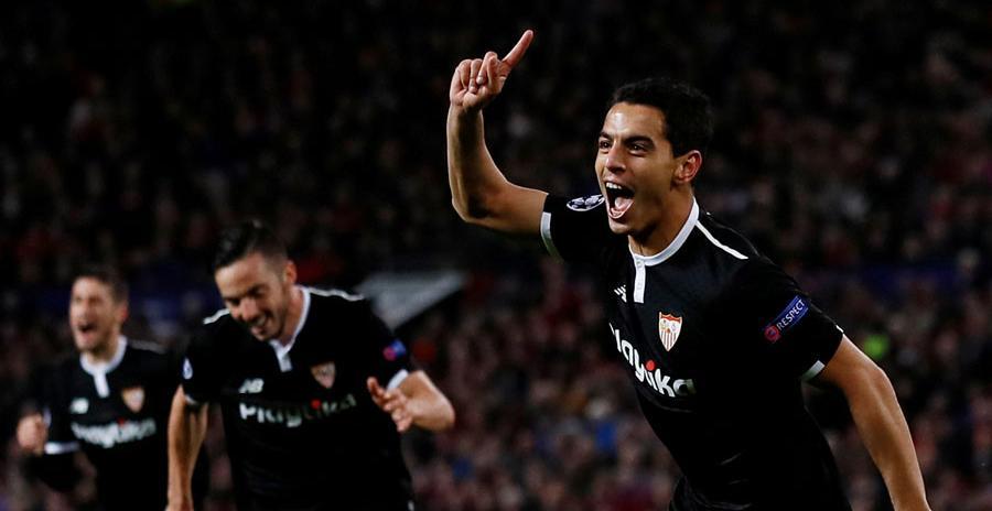 El Sevilla da la campanada y elimina al Manchester United en Old Trafford