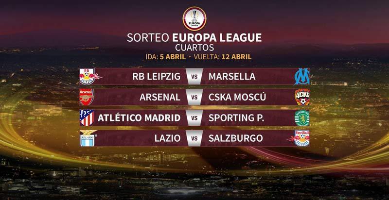 El Atlético se medirá al Sporting de Portugal