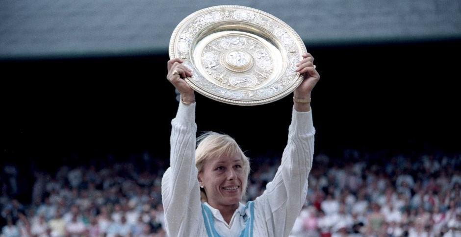 La extenista Navratilova denuncia que cobró menos que McEnroe por comentar los partidos de Wimbledon en la BBC