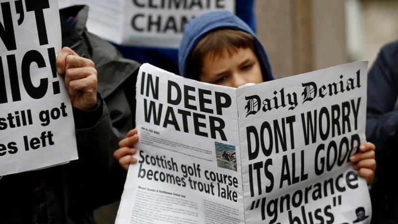 Desinformación y 'fake news': cómo luchar contra el negacionismo climático