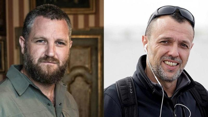 Beriáin y Fraile, dos reporteros con una larga experiencia en territorios hostiles