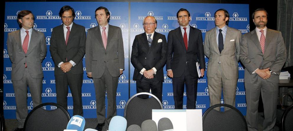 La Audiencia Nacional embarga la herencia de seis hijos de Ruiz Mateos