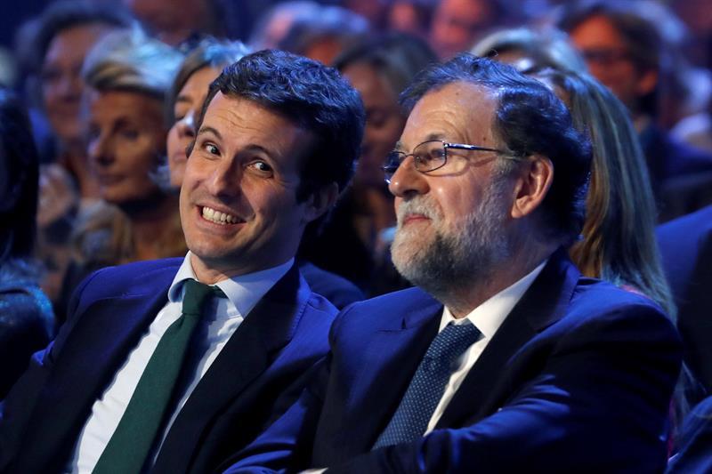 Rajoy advierte a Casado: No es bueno el sectarismo ni son buenos los doctrinarios