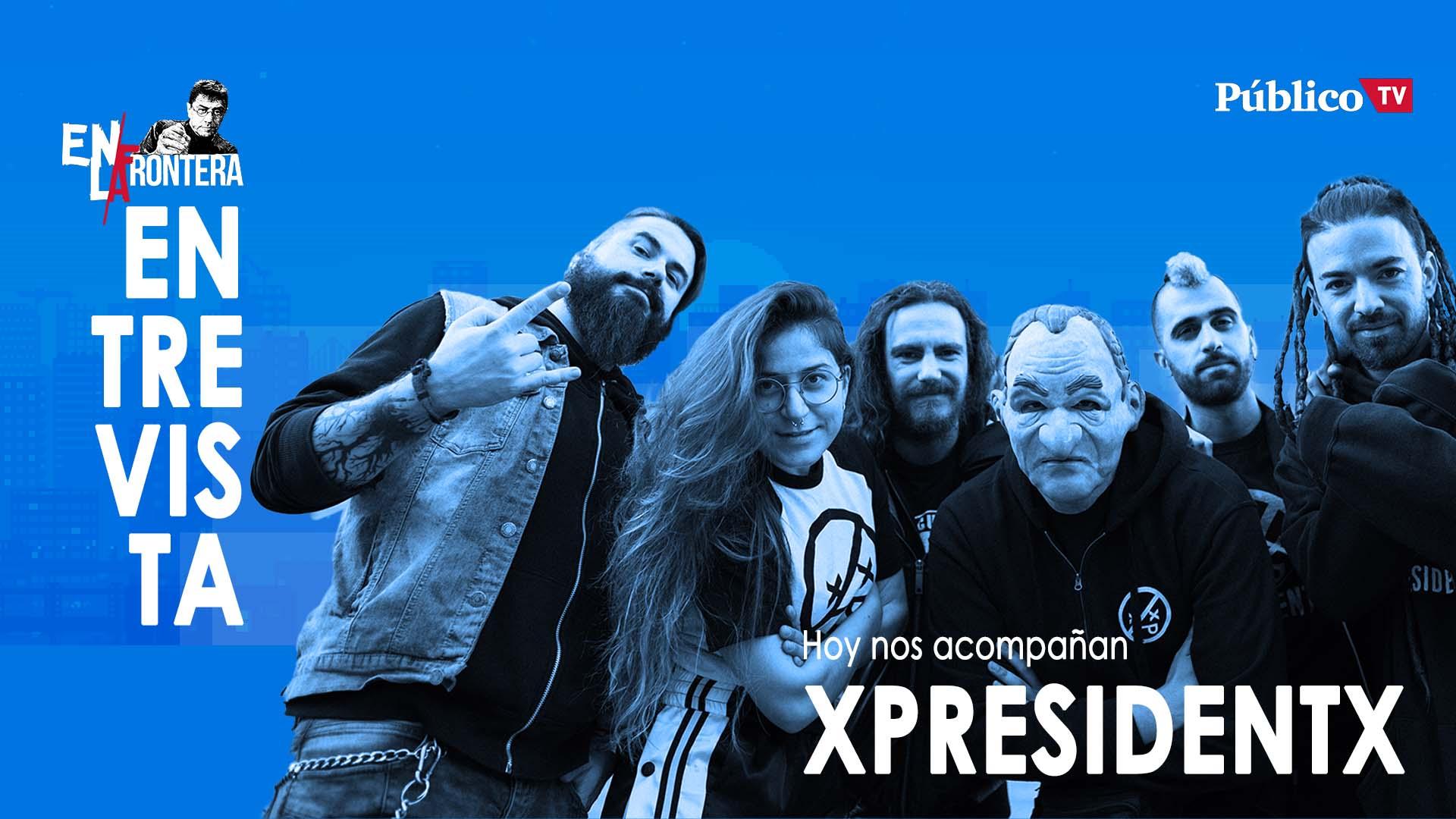 Entrevista a XpresidentX – En La Frontera, 23 de Enero de 2020