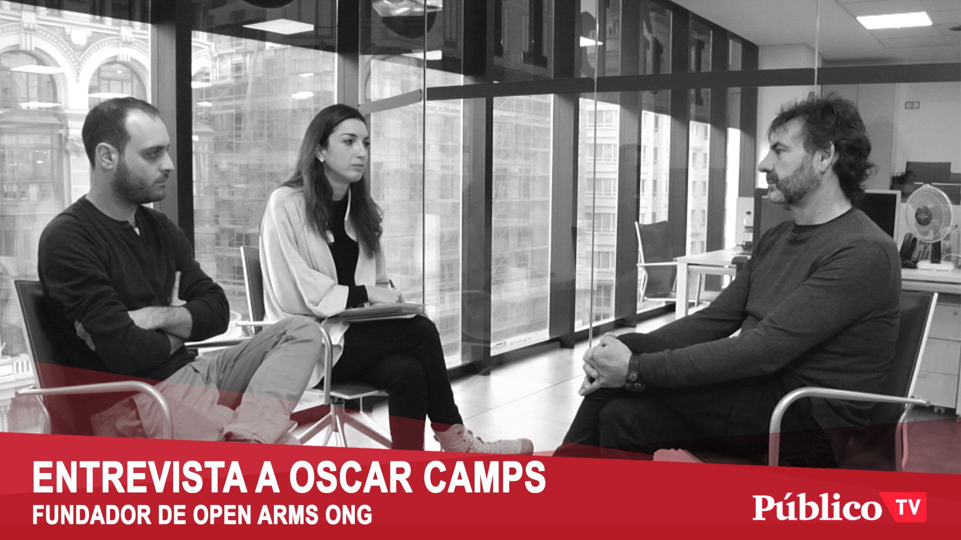 Oscar Camps – «Hemos rescatado personas que llevaban 3 intentos de salida…»