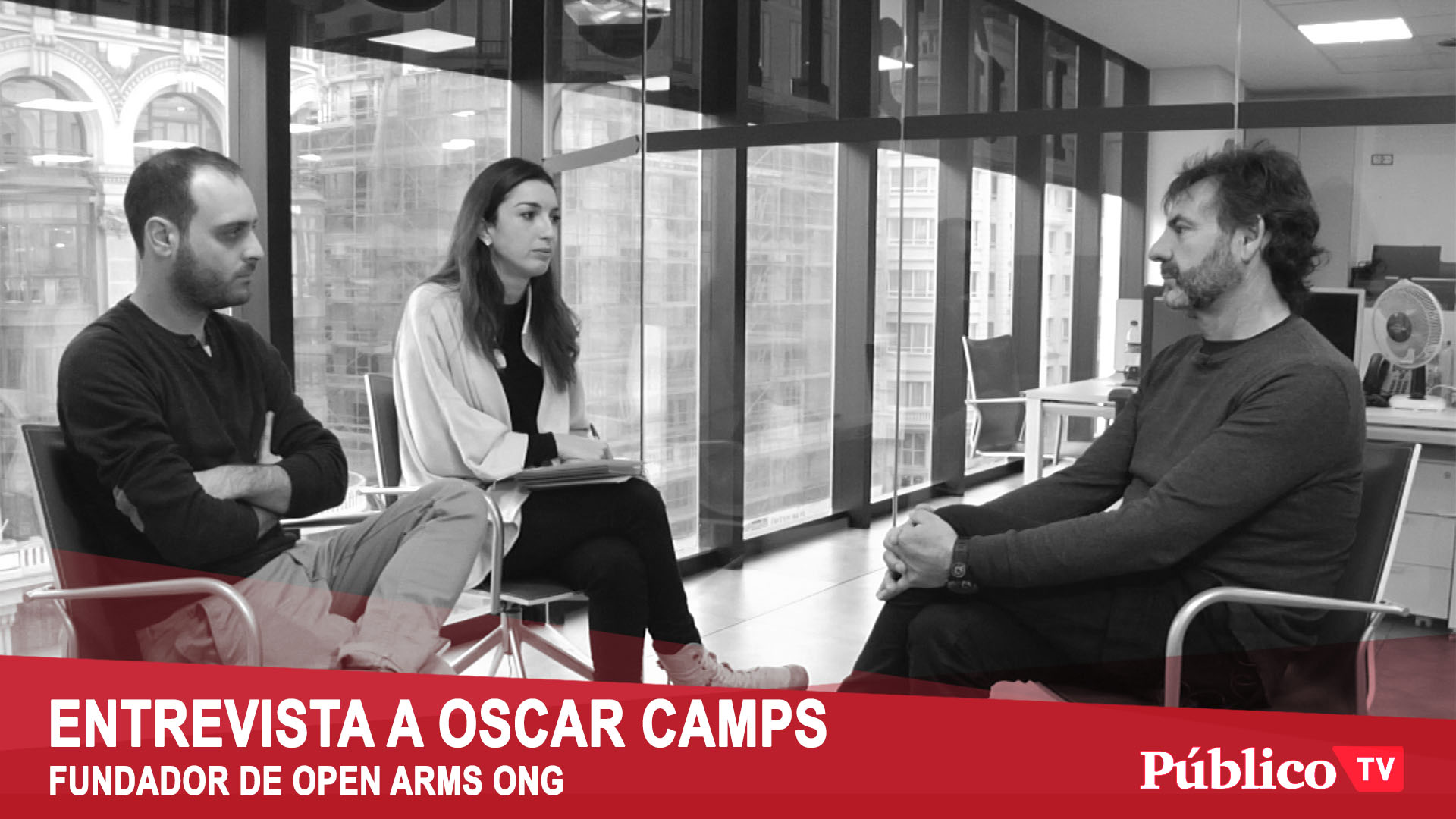 Entrevista a Oscar Camps Fundador de Proactiva Open Arms