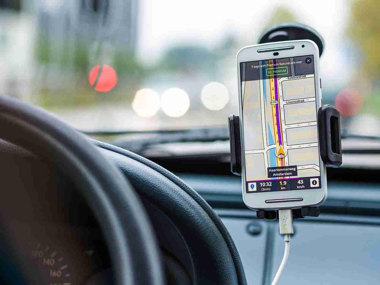 Móvil como GPS