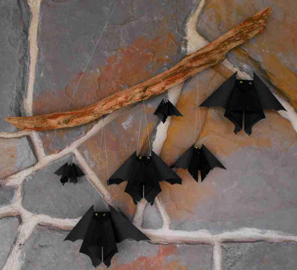 Murciélagos de Halloween