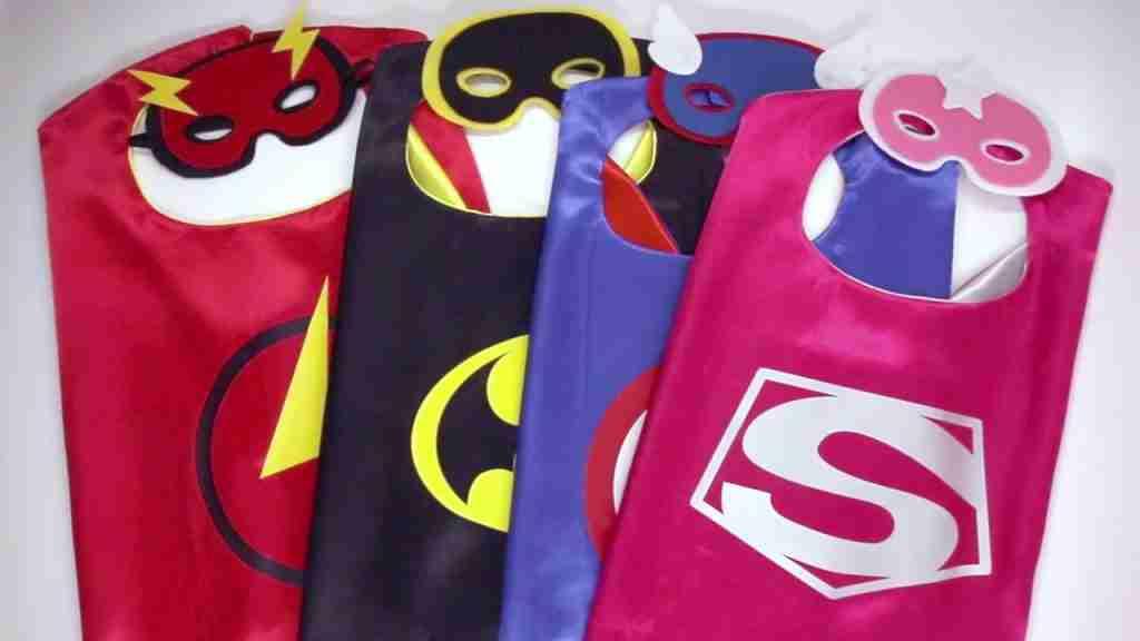 antifaces de superhéroes