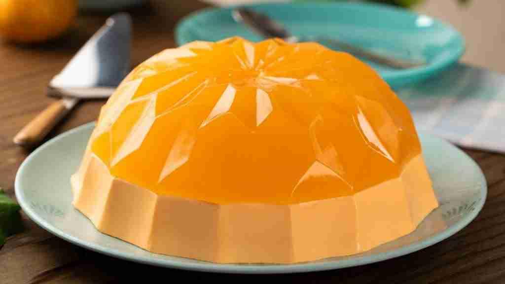gelatina de naranja y mandarina