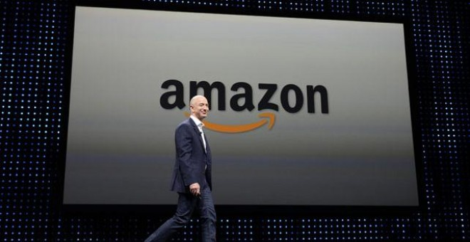Jeff Bezos, propietario de Amazon.