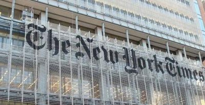 Fachada del diario 'The New York Times'. EFE