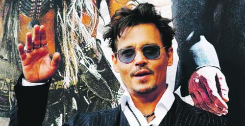El actor Johnny Depp. REUTERS
