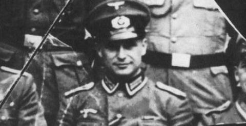 El nazi Klaus Barbie, también conocido como El carnicero de Lyon.