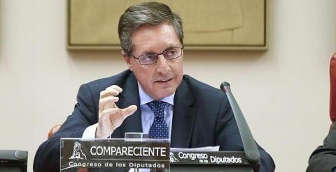 Santiago Menéndez, director de la Agencia Tributaria, en una imagen de archivo. EFE