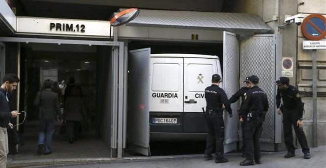 Imagen de la sede de la Audiencia Nacional en la madrileña calle Prim. EFE