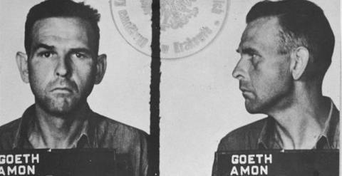 El criminal nazi Amon Goeth. /WIKIPEDIA