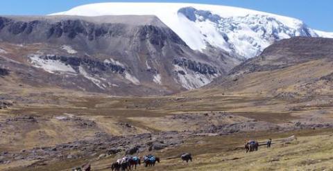 El glaciar Quelccaya, en los Andes peruanos. /Paolo Gabrielli