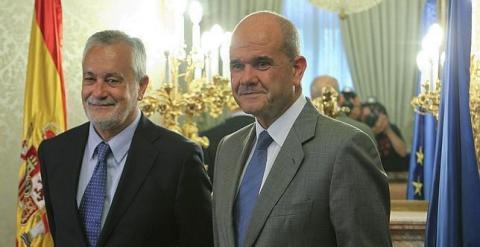 Chaves y Griñán, en una foto de archivo. EFE