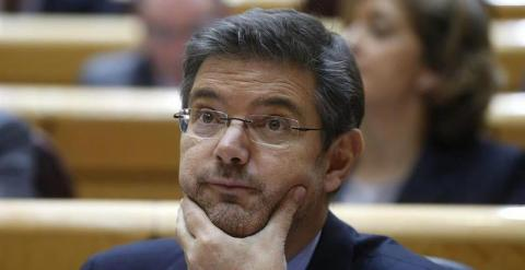 El ministro de Justicia, Rafael Catalá. / EFE