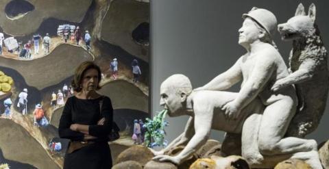 """El MACBA cancela una exposición por una escultura """"inapropiada"""" del rey Juan Carlos 55096e4df0473.r_1426682078594.59-9-996-492"""