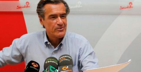 El eurodiputado socialista Juan Fernando López Aguilar. (EFE)