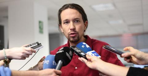El líder de Podemos, Pablo Iglesias. PÚBLICO