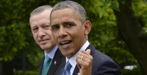 Barack Obama, con el presidente turco, Recep Tayyip Erdoğan. / EFE