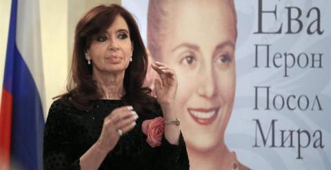 La presidenta argentina, Cristina Fernández de Kirchner. - EFE