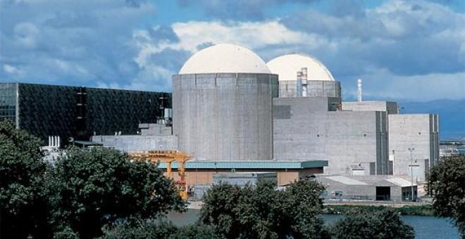 Imagen de la central Nuclear de Almaraz que sigue aún en activo
