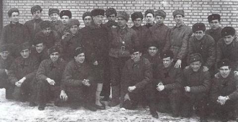 Soldados españoles que lucharon del lado de la URSS.