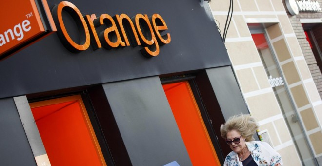 Tienda de Orange en Madrid. REUTERS