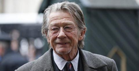 El actor John Hurt. (REUTERS/Suzanne Plunkett)