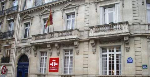 sede del Instituto Cervantes en París, edificio del Gobierno Vasco en 1936.