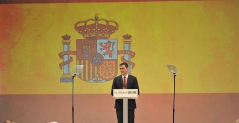 Pedro Sánchez y la bandera. 5 claves de un éxito comunicativo, por Olga Casal