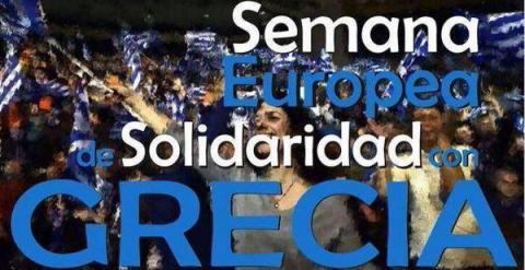"""Fotografía de la campaña """"Solidaridad con Grecia"""" / PUBLICO"""