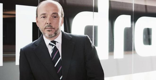 Javier Monzón, expresidente de Indra, que abandonó la empresa en enero de 2015 tras cobrar una indemnización de 15 millones de euros. EFE