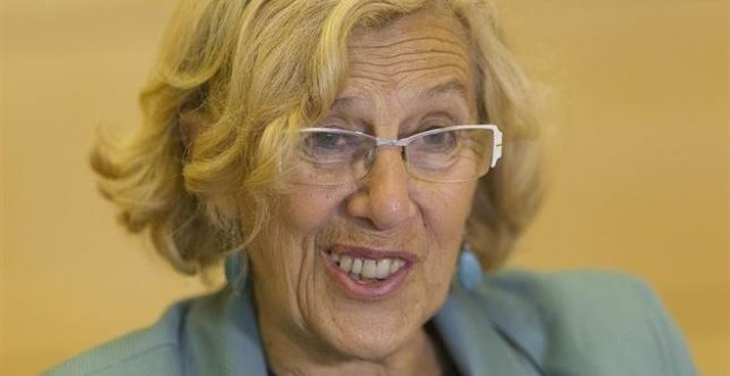 Manuela Carmena, alcaldesa de Madrid.- EUROPA PRESS.