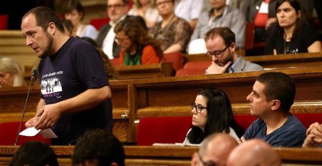 La CUP pidió a Mas aplazar la cumbre soberanista para organizar unos comicios 'nítidamente plebiscitarios'