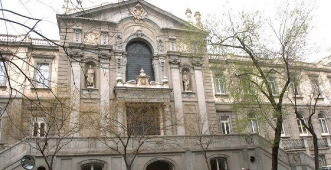 Fachada del Tribunal Supremo, en una imagen de archivo. EFE