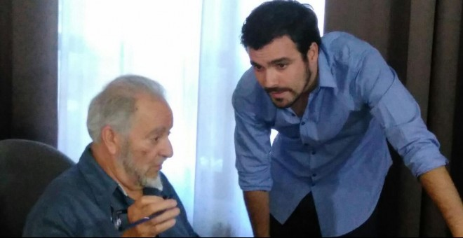 Anguita y Alberto Garzón