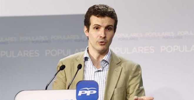Pablo Casado./ EUROPA PRESS