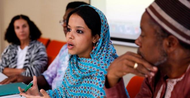 La periodista Ebbaba Hameida Hafed.