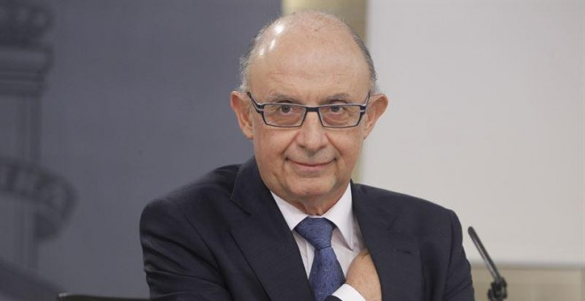 El ministro de Hacienda, Cristobal Montoro./ EUROPA PRESS