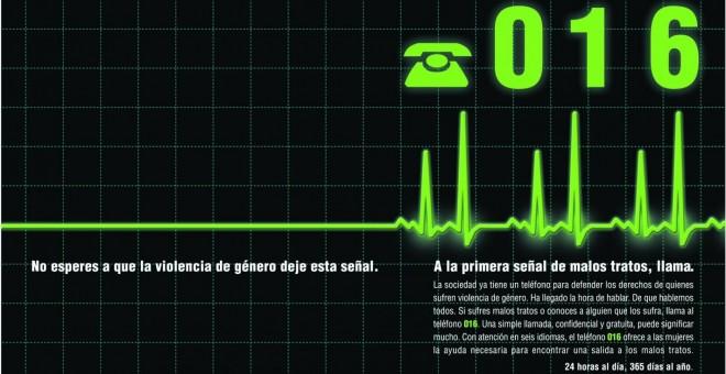 telefono maltrato 016
