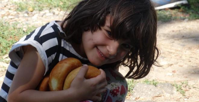 Nalin, en el campo de refugiados de Harmanli, en Bulgaria. / CORINA TULBURE