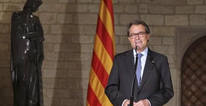 Mas dará luz verde al 'proceso de independencia' de Catalunya con mayoría de escaños el 27-S