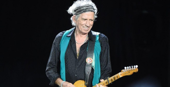 El guitarrista Keith Richards.