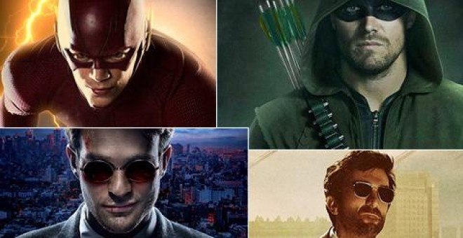 Superhéroes televisivos como Arrow, The Flash o Daredevil.