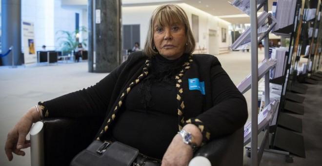 La jueza María Servini de Cubría el pasado miércoles en el Parlamento Europeo.- IRENE LINGUA/DISOPRESS